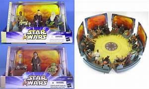 Star Wars 2003 Clone Saga Jedi High Council Diorama Scenes ...