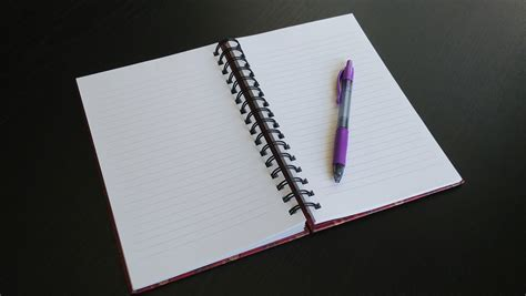 Open Notebook Free Stock Photo  Public Domain Pictures