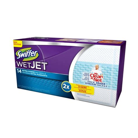 swiffer wetjet power pad refills 14 count 003700081790 the home depot