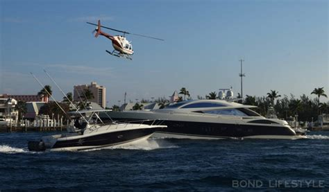 Boats Used In James Bond Movies by Sunseeker Predator 108 Bond Lifestyle