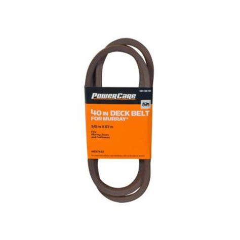murray 40 in tractor deck belt hd37x62 the home depot