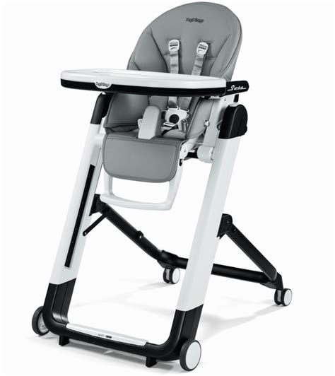 peg perego siesta high chair grey