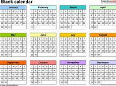 Yearly Calendar Printable yearly printable calendar