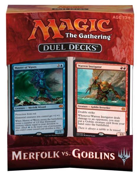 icv2 revealed for magic duel decks merfolk vs goblins