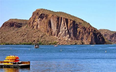 Canyon Lake Az Fishing Boat Rentals by Saguaro Lake Arizona Boat Rental Directions Map