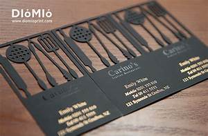 Chef Business Card - DioMioPrint