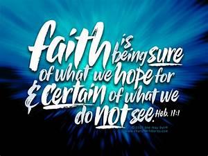 Feeding your Faith & Starving your Fear