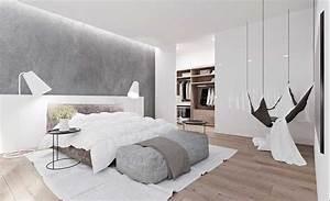 Ideen Schlafzimmer Farbe : sch ne schlafzimmer ideen grau und wei und braun in der farbe enthalten eine h ngende ~ Markanthonyermac.com Haus und Dekorationen