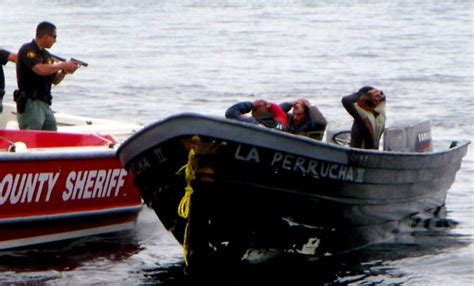 Panga Boat Lands In Crystal Cove by Newport Local News Panga Patrol Aboard The High Tech Boat