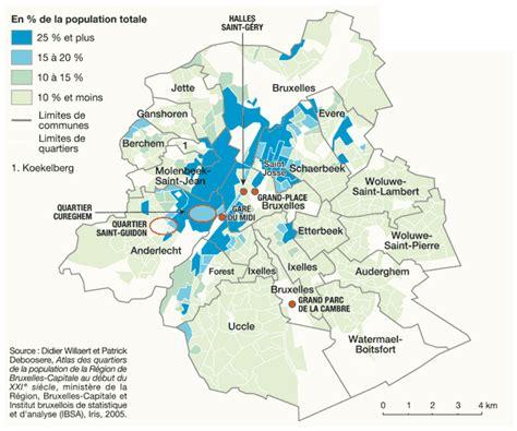 population d origine marocaine 224 bruxelles en 2005 par philippe rekacewicz le monde