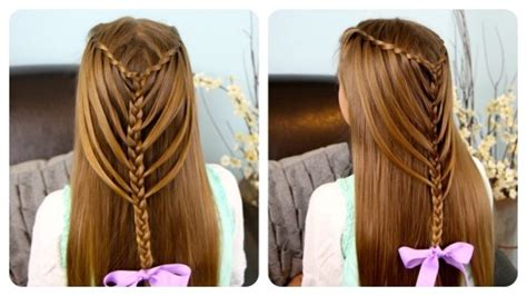 How To Do Waterfall Twists Into Mermaid Braid Hairstyles Step By Step Diy Tutorial Instructions