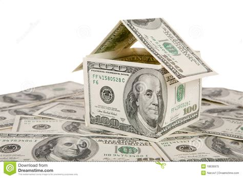 Home Design Unlimited Money : Money House Royalty Free Stock Photo