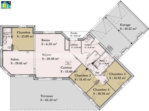 1000 ideas about plan maison plein pied on maison plein pied plan maison