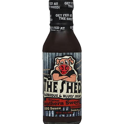 the shed barbeque blues joint original southern sweet bbq sauce 15 oz pack of 6 walmart