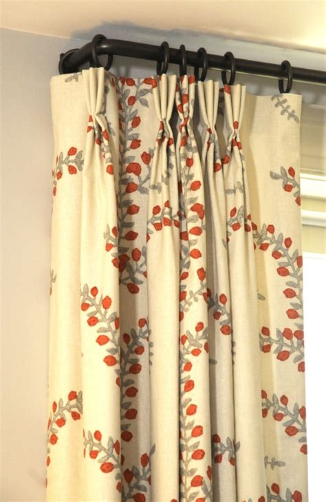 types of curtains for traverse rods