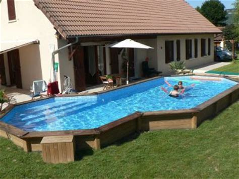 piscine bois semi enterr 233 e