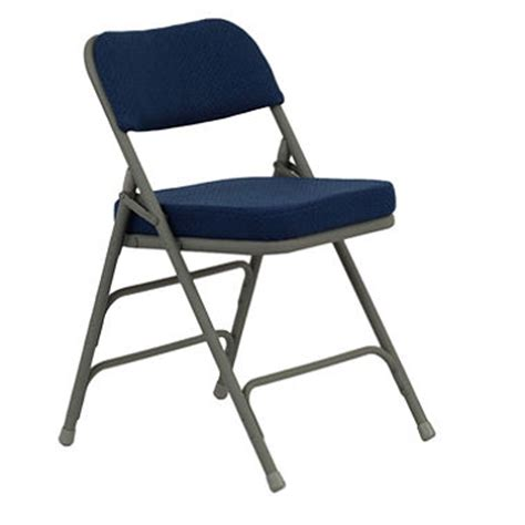 offline hercules 1 padded metal folding chairs navy sam s club