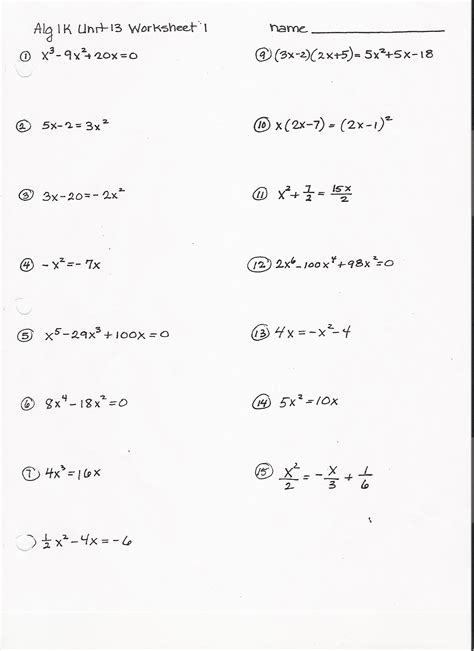 15 Best Images Of Gcf Worksheets With Answers  Greatest Common Factor 6th Grade Math Worksheet