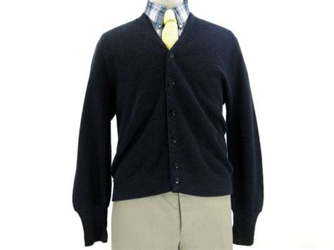 Navy Button Down Sweater