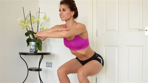 How To Do A Perfect Squat Youtube