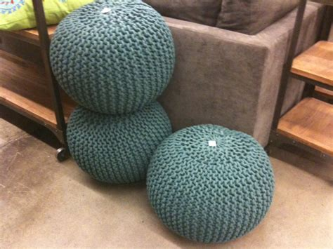 knitted pouf patterns a knitting