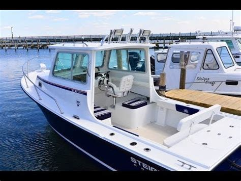 Maycraft Boats Youtube by Steiger Craft Boats 21 Dv Miami Pilot House Outboard