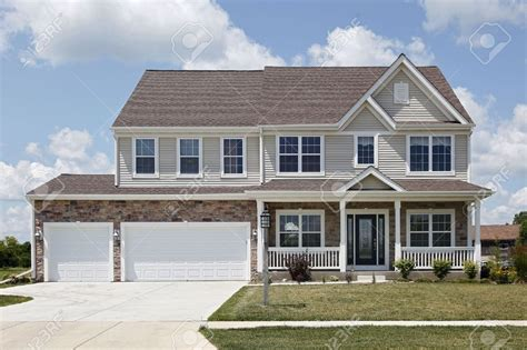 Two Story Brick House Plans With Front Porch