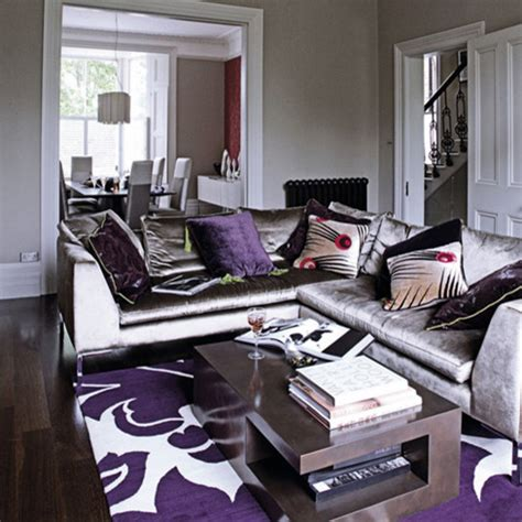grey and purple living room walls gray purple living rm