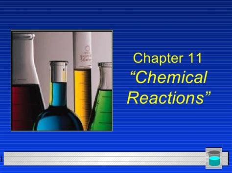 Chemistry  Chp 11  Chemical Reactions Powerpoint