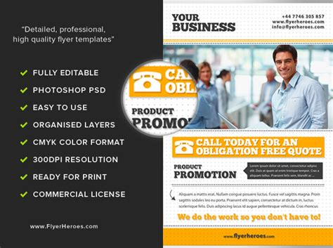 Flyers For Business Examples
