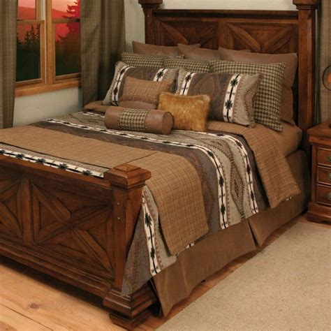 Apache Rustic Coverlet Bedding Collection  Santa Fe Ranch