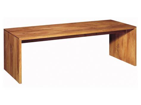 bureau table en bois massif ponte by e15 design philipp mainzer