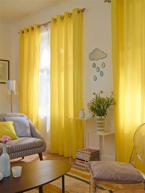 les 25 meilleures id 233 es de la cat 233 gorie rideaux jaunes sur rideau jaune voilage