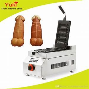 Hot Dog Machen : 2018 commercial rotary gas penis waffle maker muffin hot dog machine hot dog waffle maker ~ Markanthonyermac.com Haus und Dekorationen