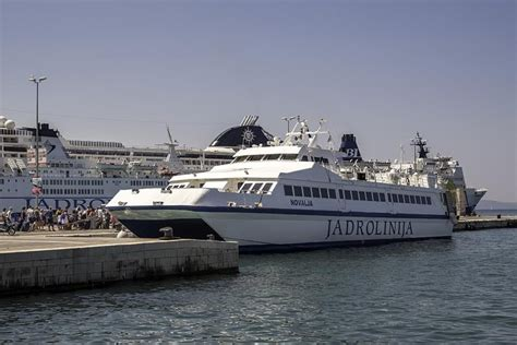 Catamaran Excursion Croatia by Jadrolinija Introduces A New Catamaran Line