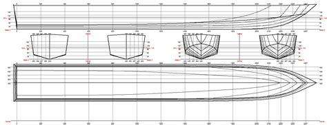 Catamaran Hull Lines hull design hydro bike