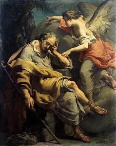 File:'Joseph's Dream', painting by Gaetano Gandolfi, c ...