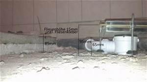 Dusche Abfluss Einbauen : bodengleiche dusche abfluss zu hoch ~ Markanthonyermac.com Haus und Dekorationen