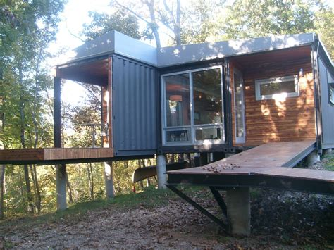 Shipping Container Homes The 8747 House  The James River