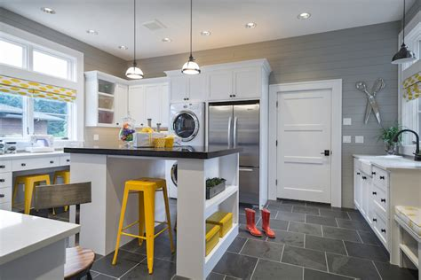 Laundry Craft Rooms  Transitional  Laundry Room Ttm
