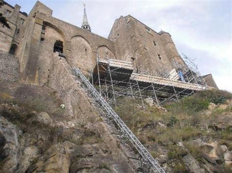 travaux en cours 224 l int 233 rieur picture of abbaye du mont michel mont st michel