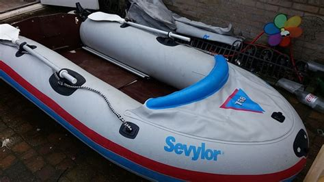 Inflatable Boats Motor Yamaha by Sevylor Inflatable Boat T68 With Yamaha Motor 2hp