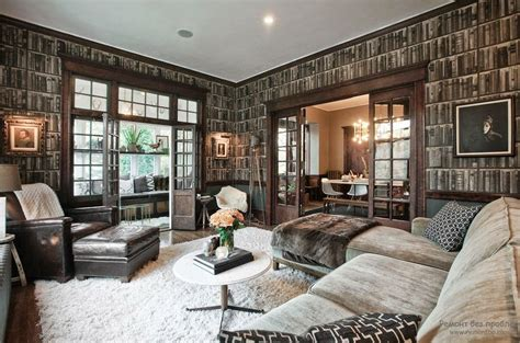 Trendy Living Room Wallpaper Ideas, Colors, Patterns And Types