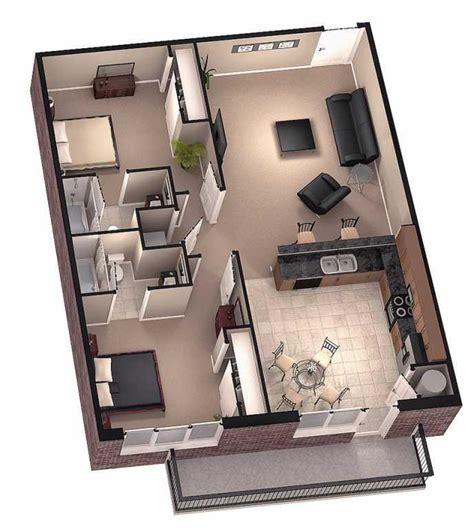 3d floor plan image 2 for the 1 bedroom studio floor plan 3d home floor plan designs android apps on play