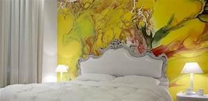 Ideen Schlafzimmer Farbe : wandgestaltung schlafzimmer coole wandgestaltung ideen f r kreative wandgestaltung farbe ~ Markanthonyermac.com Haus und Dekorationen