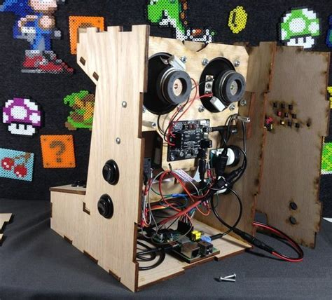 Mini Arcade Cabinet Kit by Build Your Own Mini Arcade Cabinet With Raspberry Pi