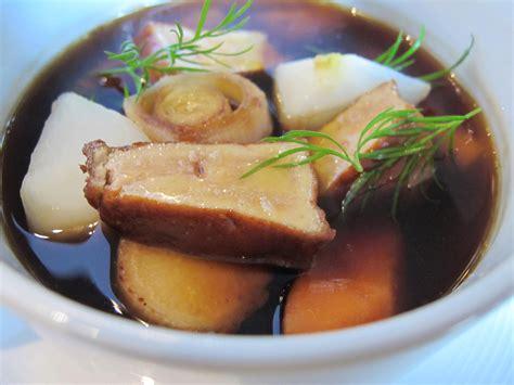 la tuerie du dimanche pot au feu de foie gras l 233 gumes printaniers du chamar 233