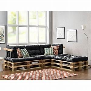 Bauanleitung Paletten Sofa : paletten sofa indoor sofa mit paletten kissen ~ Markanthonyermac.com Haus und Dekorationen