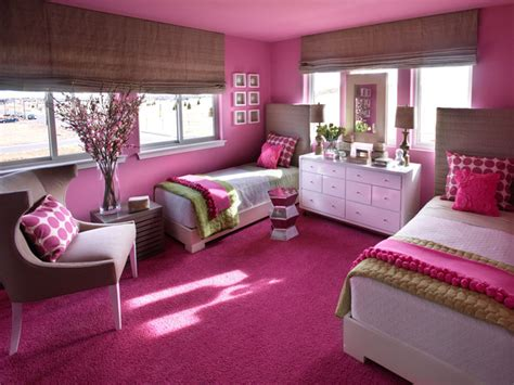 Palette Of Linen, Hot Pink And