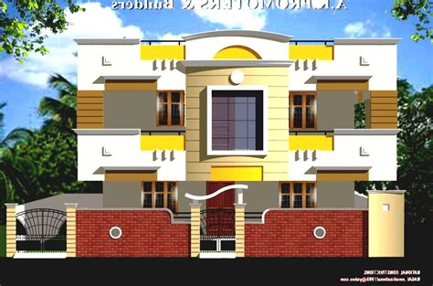 Front View Indian House Plans